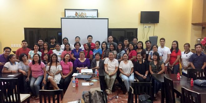 DWCL Personnel in a Seminar Workshop on Professionalizing front line service and personality development alongside Classroom Management for the New Faculty